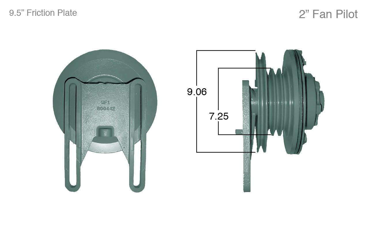 horton 2 speed fan clutch rebuild instructions