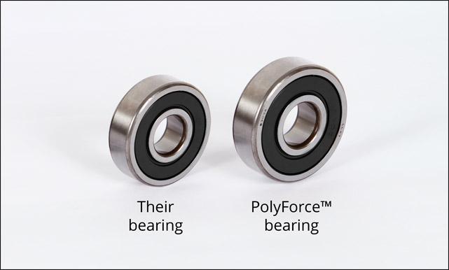 PolyForce bearing