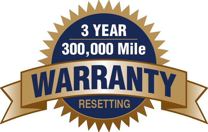 3 year 300,000 Mile Warranty resetting